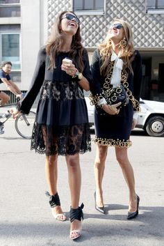 Giovanna and Anna: Most Stylish BFF's I know