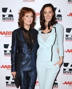 Pin for Later: 28 Celebrity Moms Who Are Nearly Identical to Their Kids Susan Sarandon and Eva Amurri