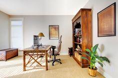 Tropisch-afrikanisches Arbeitszimmer