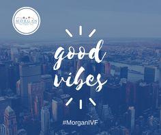 #MorganIVF Dr Morgan, Nancy, Lucille, Jen, Lauren, Kelly, Rose, Melanie, Maryanne, Marisa, Kerri, Rebecca, Diana and Jenny are sending you good vibes today!