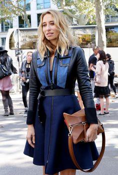 Louis Vuitton for everyone! #AlexandraGolovanoff in Paris.
