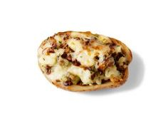 Mushroom-Taleggio Twice-Baked Potatoes : If you're craving cheesy comfort food, these three-cheese twice-baked potatoes should fit the bill. Mushrooms add a satisfying meaty texture, while sage complements each of the savory elements.
