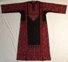Traditional Gaza dress