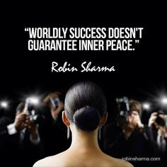Worldly success doesn't guarantee inner peace.  Robin Sharma  Adversity can break you. Or it can fuel you. Your choice. Choose wisely. Please... Your future depends on it.  Robin Sharma  #RobinSharma #Quote #QuoteOfTheDay #PhotoOfTheDay #PicOfTheDay #Instagood #BestOfTheDay  #LosAngeles #ATX #Austin #Texas #Miami #Motivation #Inspiration #Success #PREINFunding #RealEstate #Realtor #Business #Entrepreneur #Luxury #FlippingHouses #Wealth #BuildingAnEmpire #Millionaire  #Dream #Big #Winning…