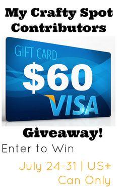 $60 Visa Gift Card Giveaway