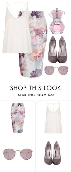 """""""Без названия #1252"""" by asmin ❤ liked on Polyvore featuring Topshop, Ray-Ban, Camilla Skovgaard, women's clothing, women, female, woman, misses and juniors"""