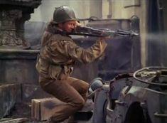 Jack Hogan Combat | Pfc. Kirby ( Jack Hogan ) fire the BAR.