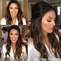 Swipe for more! ➡️ One of my gorgeous brides from the weekend! �� We went for more natural, bronze, & sun kissed looking makeup - no harsh liner or even airbrush - she just wanted to accentuate her natural beauty! What a stunner! Hair by @angela_everhart. • • • #MUA #MakeupArtist #Makeup #WeddingMakeup #Brides #BridalMakeup #BrideMakeup #Bridal #Bride #Mehron #KimKardashian #KylieJennerMakeup #KimKMakeup #Beauty #Cosmetics #Bronze #BeforeAndAfter #Glam #SmokeyEye #Flawless…