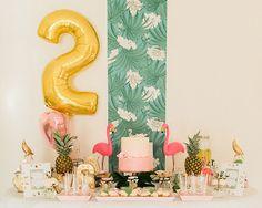 Anniversaire sur le thème tropical http://www.monbebecheri.com/anniversaire-tropical/