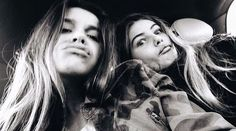Thylane Blondeau and Victoria