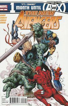 The New Avengers # 23 Marvel Comics ( 2012 ) Vol 2