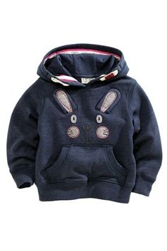 Buy Bunny Embellished Hoody (3mths-6yrs) from the Next UK online shop