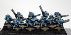 A Bunch of Tactical Whatevers: TAU FIRE WARRIORS the third and last part.