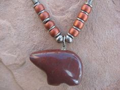 Black Leather Necklace with a Reversible by buffalorunjewelry, $11.95