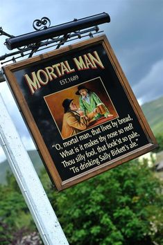 Mortal Man, Dog Friendly Pub