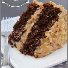 Best Ever German Chocolate Cake