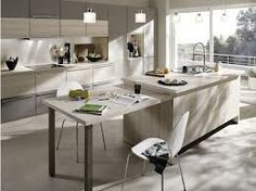 belles cuisines - Recherche Google Recherche Google, Kitchen Island, Table, Furniture, Home Decor, Beautiful Kitchens, Island Kitchen, Decoration Home, Room Decor
