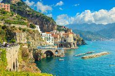 イタリア、アマルフィ海岸