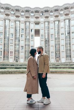 J'aime tout chez toi - French fashion couple - architecture by Ricardo Bofill