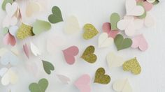 Spring Paper Garland Easter Garland By HelenKurtidu On Etsy,