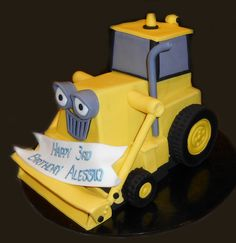 3D Scoop Birthday Cake - by Nada's Cakes Canberra