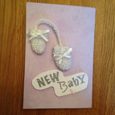 A personal favourite from my Etsy shop https://www.etsy.com/listing/229885562/baby-boy-or-girl-greeting-card