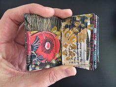 mini journal #6 - by bun - artist: Roxanne Coble