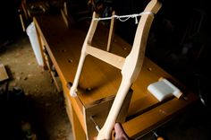 """12"""" Mable & Walnut Bow Saw (""""Woodworking Hand Tool Buying Guide: Hand Saws"""" at WoodAndShop.com)"""