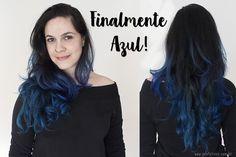 cabelo azul - crazy colors alfaparf ice blue profetices