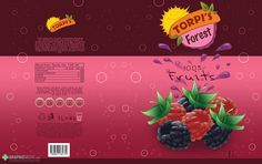 Package design for juice