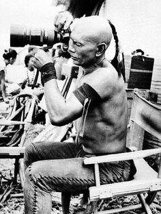 Yul Brynner, movie star and amateur photographer