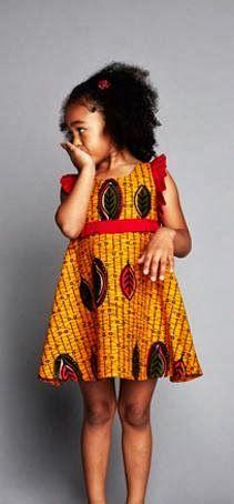 ♥Ankara Gown For Kids - DeZango Fashion Zone