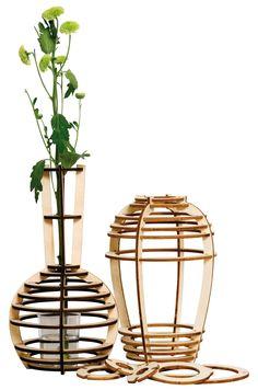 3 vases Vase - Building set