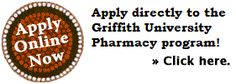 Griffith School of Pharmacy applications for the 2016 intake are now officially open