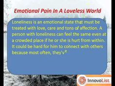 This app is a perfect answer and help to all those moments when you feel low, depressed or alone. It provides you everything that you want to know about how to deal with loneliness. Download now for free and access it anytime to boost your inner self wherever you are.  http://innateapps.com/DealingWithLoneliness.php