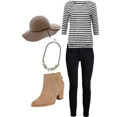 """""""Dressy Casual / Uni Outfit"""" by monique-mariee on Polyvore"""