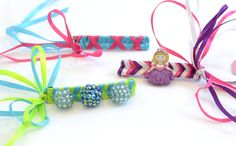 Are you in need of a prefect accessory for tonight? Why not take this twist on Barrettes with the My Ribbon Barrette Maker.