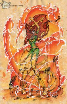 Phoenix by SaraRichard.deviantart.com on @deviantART
