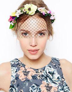 ASOS Garden Party Veil Headband