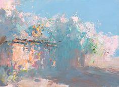 Clouds of cherry petals, Peter Bezrukov
