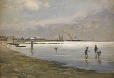 Hugo Salmson - Lekande pojkar i vattenbrynet - Hugo Salmson — Wikipédia