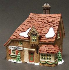 DEPT 56 DICKENS VILLAGE THE CHOP SHOP 58333 RARE IN BOX NEW