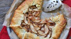 Apple Galette. Get the recipe via @PureWow