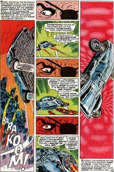 Nick Fury, Comic Book Artists, Comic Artist, Comic Books Art, Jack Kirby, Stan Lee, Jim Steranko, 168, Comic Page