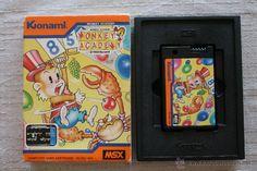 Monkey Academy msx konami con caja