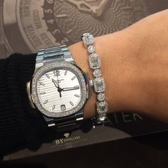 Tennis Bracelet!!! Patek Philippe Nautilus 7018/1A-001 ✨ The perfect size for every Lady Available in Store & Online