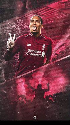Liverpool Anfield, Liverpool Players, Liverpool Football Club, Liverpool Fc Wallpaper, Liverpool Wallpapers, Best Football Players, Football Soccer, Virgil Van Dijk, Football Wallpaper