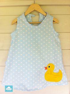 Rubber duckie dress ( squeeze me I squeak) Quack quack Polka Dot Top, Boy Or Girl, Summer Dresses, Quack Quack, Stuff To Buy, Ducks, Shopping, Tops, Women