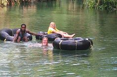 Ocho Rios: River Tubing and Blue Hole Private Tour