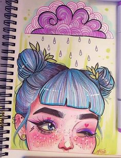 Cute drawing crystals//magic//art в 2019 г. Marker Kunst, Marker Art, Art Drawings Sketches, Cute Drawings, Pretty Art, Cute Art, Arte Sketchbook, Magic Art, Painting & Drawing